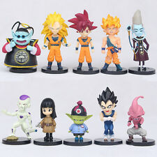 Set of 10pcs Dragon Ball Z Collection Pack Dolls Set Toys Kids Mini Figure Gift