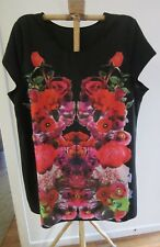 LIGHT WEIGHT FLORAL DRESS, SIZE 26 BY ED IT ED