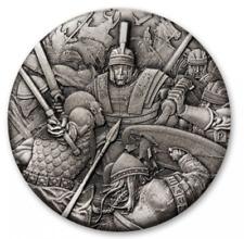 2 $2018 Tuvalu-arte de la guerra/Warfare-romano legión/Roman Legion