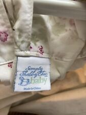 4 Simply Shabby Chic Baby Lined Small Roses Curtain Panels 51� X 63� Lovely