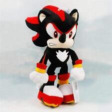 "Shadow Sonic the Hedgehog Super Mario Plush Toy Stuffed Animal Figure New 10"""