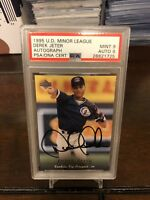Derek Jeter 1995 Upper Deck Minor League Autographed Card PSA 9 Mint Yankees HOF