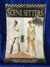 ELVIS PRESLEY Scene Setter HOLLYWOOD movie night party wall backdrop THE KING