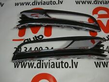FRONT BUMPER GRILLE LEFT and RIGHT with 3 chrome places VW PASSAT B7 2011 - 2014