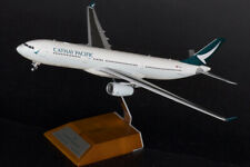 1:200 32CM JC WINGS CATHAY PACIFIC AIRBUS A330-300 Passenger Plane Diecast Model