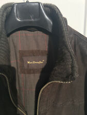 Blouson cuir daim Mac Douglas, type TRUCKER, marron XL
