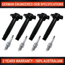 4 x Genuine NGK Spark Plugs & Ignition Coils for Nissan Pulsar N16 1.6L 1.8L
