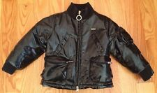 Ferre Kids Faux Leather Jacket Coat. Size 2. Black. Toddlers Boys Girls Children