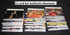 2017-18 SP AUTHENTIC COMPLETE AUTHENTIC MOMENTS SET INSERT #101 to #115