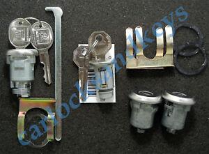1963-1965 Pontiac LeMans Ignition Door Trunk Locks Lock