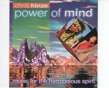 CD CHRIS HINZE	power of mind	EX  (B1927)