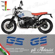 Set Adesivi serbatoio BMW Ninet Nine T Urban GS Blu & Rosso B1