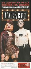 SIENNA MILLER starred as Sally Bowles in CABARET with ALAN CUMMING in 2015