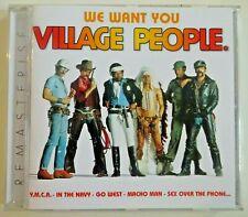 """VILLAGE PEOPLE : BEST OF REMASTERED + 12"""" original Remixes ! ♦ CD Album ♦ ymca"""