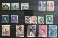BELGIUM: Selection of Used Stamps, 1930s