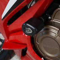R&G White Aero Crash Protectors for Honda CBR500R 2020