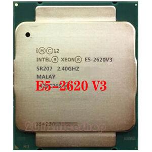 Intel Xeon E5-2620 V3 SR207 2.4GHz 6-Core LGA 2011-3 CPU Processor 100% working