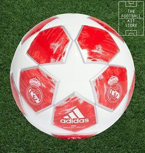 adidas Real Madrid Mini Football - Finale 18 Mini Ball - Size 1