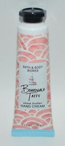 1 BATH & BODY WORKS BOARDWALK TAFFY SHEA BUTTER HAND CREAM LOTION 1OZ TRAVEL