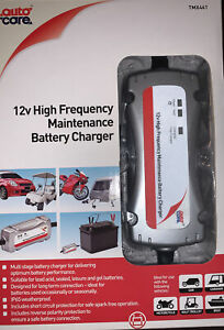 Auto Care High Frequency Maintenance Battery Charger TMX461