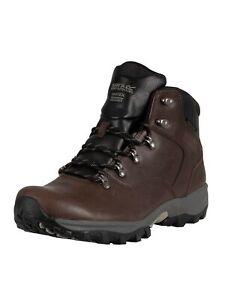 Regatta Men's Bainsford Hiking Leather Boots, Brown