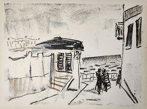 """Plenkers, Stephan (1945 Ebern, lebt in Dresden)  """"Blick auf das Meer""""   Ostsee"""