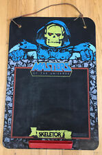 Vintage 1984 Skeletor Masters Of The Universe He-Man Chalk Board Rare