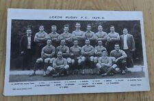More details for 1925/26 leeds rugby fc football club postcard
