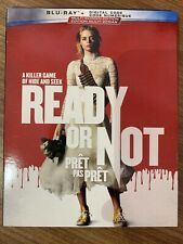 Ready Or Not Blu-Ray w Slipcover Canada Bilingual NO DC LOOK