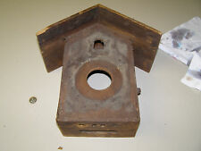 Antique Faller Coo Coo Clock case c.1900 in very nice condtion, great back panel