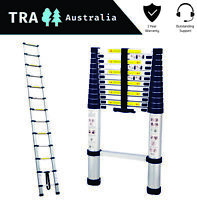 3.8m Portable Telescopic Roof Top Tent Ladder with Carry Bag Compact RV Parts