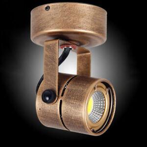 Vintage led Ceiling spotlights Industrial Retro Adjustable Picture spot Lamps