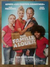 Affiche UNE FAMILLE A LOUER Jean-pierre AMERIS Benoit POELVOORDE  40x60cm