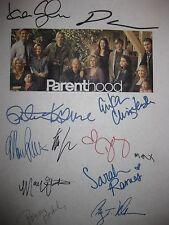 Parenthood Signed TV Pilot Script X12 Lauren Graham Dax Shepard Craig Nelson RPT