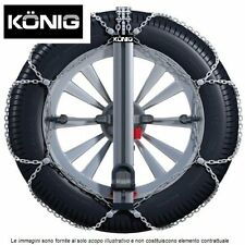 Catene da Neve 9mm KÖNIG EASY FIT CU-9 GR.90  205/55R16 205 55 16