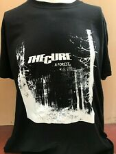 THE CURE A FOREST MENS MUSIC T SHIRT
