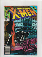 Uncanny X-Men #196 VF+ 8.5 Newsstand Marvel Comics 1985 Mark Jewelers Insert