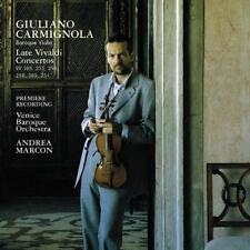 Late Violin Concertos von Venice Baroque Orchestra,Giuliano Carmignola (2002)