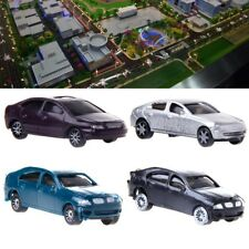 10x 1:100 Painted Model Cars Building Layout HO Scale Model Building Toy Hot
