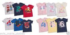 Girls' Novelty/Cartoon Scoop Neck T-Shirts, Top & Shirts (2-16 Years)