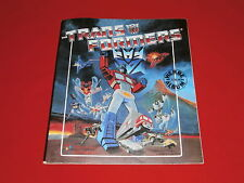 Transformers TV Anime Zeichentrick 80s Science-Fiction Serie Panini Sammel Album
