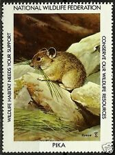 PIKA, NATIONAL WILDLIFE FEDERATION CINDERELLA 1983, MNH