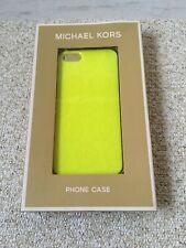 Michael Kors Phone Case iPhone 5 Neon Yellow MK Logo