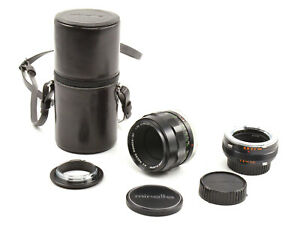 Minolta MC Macro Rokkor-QF 50mm F3.5 Lens For Minolta MD Mount! Full Kit!