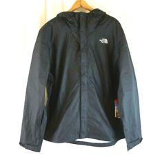 NWT The North Face Men's Black Hooded Windbreaker Jacket XL