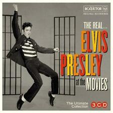 Elvis Presley The Real at the Movies The Ultimate Collection 3 CD DIGIPAK NEW