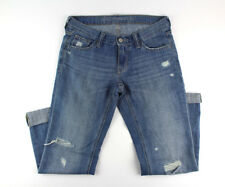 Old Navy Distressed Straight Leg Jeans Sz 4