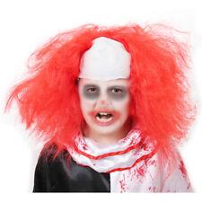IL Kids Red Clown Wig Halloween Child Horror Costume Fancy Dress Accessory 198CH