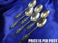 DOMINICK & HAFF LABORS OF CUPID STERLING SILVER DEMITASSE SPOON - EXCELLENT