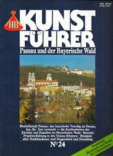 HB Kunstführer No. 24 Passau und der Bayerische Wald Deggendorf Straubing Kunst